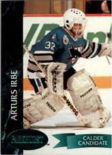 1992-93 Parkhurst Emerald Ice #396 Arturs Irbe San Jose Sharks Hockey Card