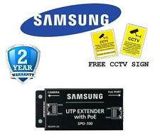 BR SAMSUNG SPO-100 UTP EXTENDER WITH POE TRANSMIT POWER & IP DATA WITH CAT5 CABL