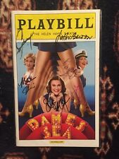 Dames At Sea Cast Signed Playbill