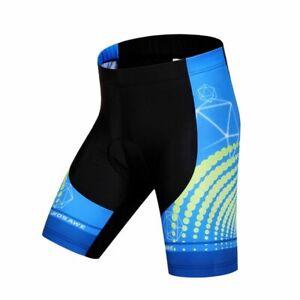 Gel Padded Cycling Shorts Spandex Racing MTB Summer Reflective Bicycle Pants