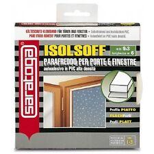 Isolante termico autoadesivo marrone in pvc per porte e finestre da 1 a 3 mm Sar