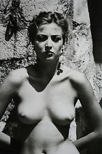 Helmut Newton Sumo Photo Print 50x70 Eva Ramatuelle 1979 Fashion YSL Stern Nude