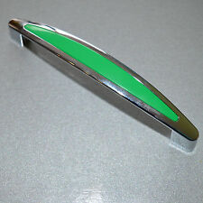 Modern chrome-Green Handles Pulls Knob Furniture Kitchen Cabinet Cupboard door
