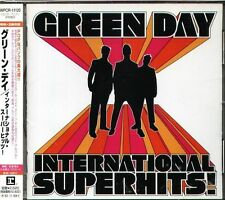 GREEN DAY - INTERNATIONAL SUPER HITS - Best Of - Japan CD - 21Tracks OBI
