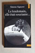 R40634 Simone Signoret - Le Lendemain, elle était souriante