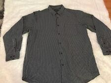 NWT $40 DAVID TAYLOR  S//S BUTTON FRONT CAMP SHIRT GRAY POCKET XLT X-LARGE TALL