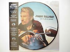 Johnny Hallyday double 33Tours vinyle picture disc collector Ca Ne Finira Jamais
