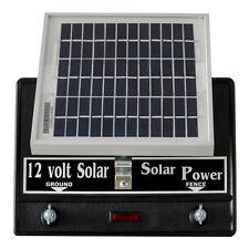 Solar Fence Charger  2-Joule / Free Lightning Diverter & 4J< Lightning Fuse Pack