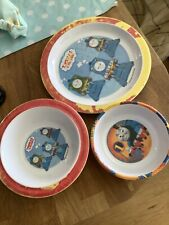 Thomas The Tank Engine - Bowls And Plate - Plastic