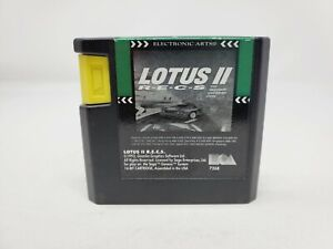 Lotus 2 II R.E.C.S. Recs (Sega Genesis) Authentic Tested