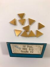 UCT Cemented Carbide Inserts TPU322 C2 Qty 10