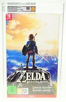 Legend Of Zelda Breath Of The Wild Limited Edition Nintendo Switch SEALED VGA 90