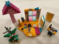 Lego Friends Set 41341 Andrea's Bedroom with Extras Electric Guitar NOT COMPLETE