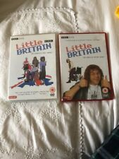 Little Britain One And 2 DVD's