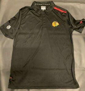"Chicago Blackhawks - ** Authentic Pro ""Fanatics"" NHL Golf  Shirt *_***NEW!!!"