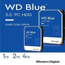 interne Festplatte WD Blue 8,9cm 3.5 Zoll Desktop PC 1TB 2TB 4TB SATA3 7200 RPM