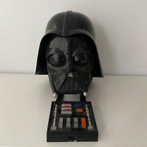 Vintage Star Wars Darth Vader Costume Helmet Mask TALKING 2004 Lucans Films