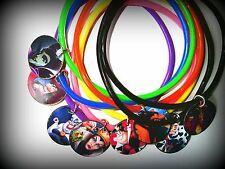 Halloween Villains -8 Charm Bracelet - Party Favor Loot Toys Prizes bracelets