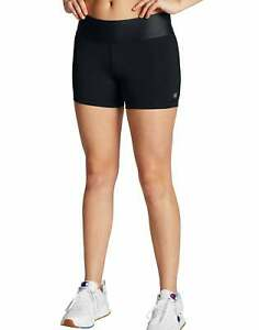 Champion Women Absolute Short Fusion 5 Inch Inseam Black SmoothTec Band sz XS-XL