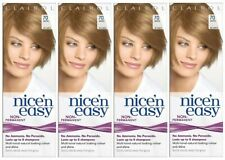 4 x CLAIROL Nice'N Easy 70 beige blonde Non-Permanent No peroxide 8 washes