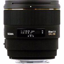 Sigma EX f/1.4 Camera Lenses