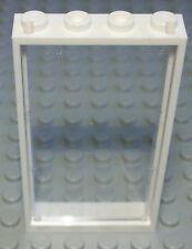 Lego Fenster 1x4x6 Weiss mit Transparenter Scheibe                        (0558)