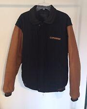Converse x Golden Bear Leather & Wool Jacket Size XL Tall