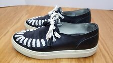 Dr. Martens AirWair Blake2 Black Leather Skater Sneakers US 8.5/Eur 41 Portugal