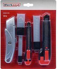 Werkzeyt Universalmesser-Set 33-teilig - Universal- und Abbrechmesser (18 mm ...