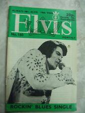 Vintage Elvis Presley Monthly #160 May 1973 pb Magazine B44