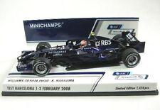 Williams-Toyota FW 30 N° 8 K. Nakajima Test Barcelona 2008