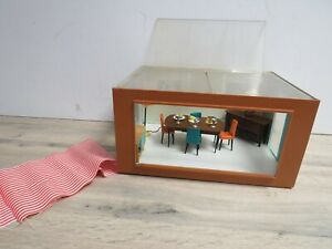 Vintage 1960s Triang Jennys Home Doll's House Dining Room Bundle Set Accessories