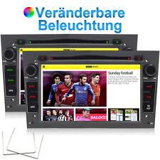 7'' OPEL Astra Navi BT Autoradio DVD GPS MP3 für Antara Corsa Zafira Tigra Grau