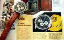 MONTRE WATCH BREITLING NAVITIMER 7806 KING HUSSEIN VALJOUX 7740 AVIATEUR PILOTE