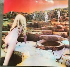 LED ZEPPELIN - HOUSES OF THE HOLY GERMAN LP  K50 014  Excellent Copy