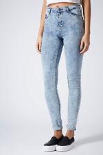 TopShop MOTO LEIGH Acid Wash Jeans W25