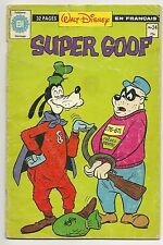 Super Goof #24 French edition (1980 Editions Heritage)  *VG+