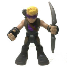 "2.5""  PlaySkool Heroes HAWKEYE Marvel Super Jungle Squad Hasbro Figure Toy gift"