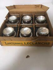 6 Lanternes Ancienne  Leclanché Dans Leur Boîte D'Origine Jamais Utilisées..