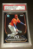 2014 Bowman Chrome #BTP70 Jonathan Singleton Top 100 Prospects PSA 9 Mint