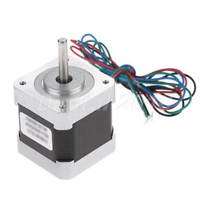 NEMA17 48mm Hybird Stepper Motor 2 Phase 4 Wire For Industries Engraving Printer