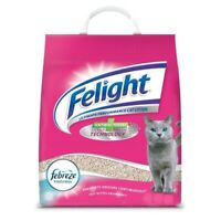 1x 10L FELIGHT LIGHTWEIGHT ANTIBACTERIAL CAT LITTER FRESH FEBREZE ODOUR CONTROL