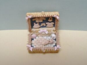 1:12 Scale Miniature Porcelain Doll Layette
