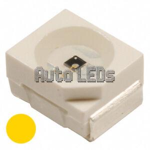 15 x Yellow 3528 - PLCC-2 SMD LEDs
