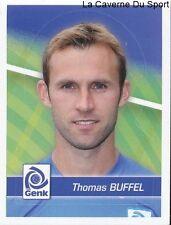 087 THOMAS BUFFEL BELGIQUE KRC.GENK STICKER FOOTBALL 2012 PANINI
