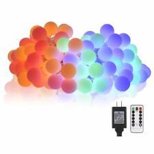 Multicolor Led String Lights Globe String Lights Indoor Outdoor 34Ft 100LED