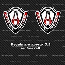 arlen ness 3.5 inch tall racing decals