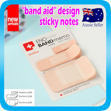 Band Aid design Sticky Notes Novelty Stationery for Kids Students Nurse Agecare