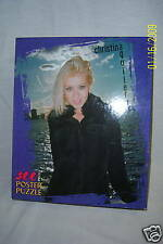 NEW CHRISTIAN AGUILERA POSTER PUZZLE 300 Pieces MB