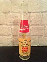1984 Vidalia Georgia Sweet Onion Festival May 18-20 Coca-Cola Bottle, empty
